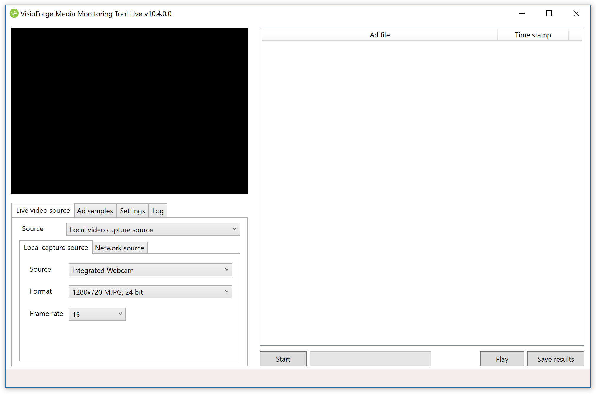 Media Monitoring Tool screenshot