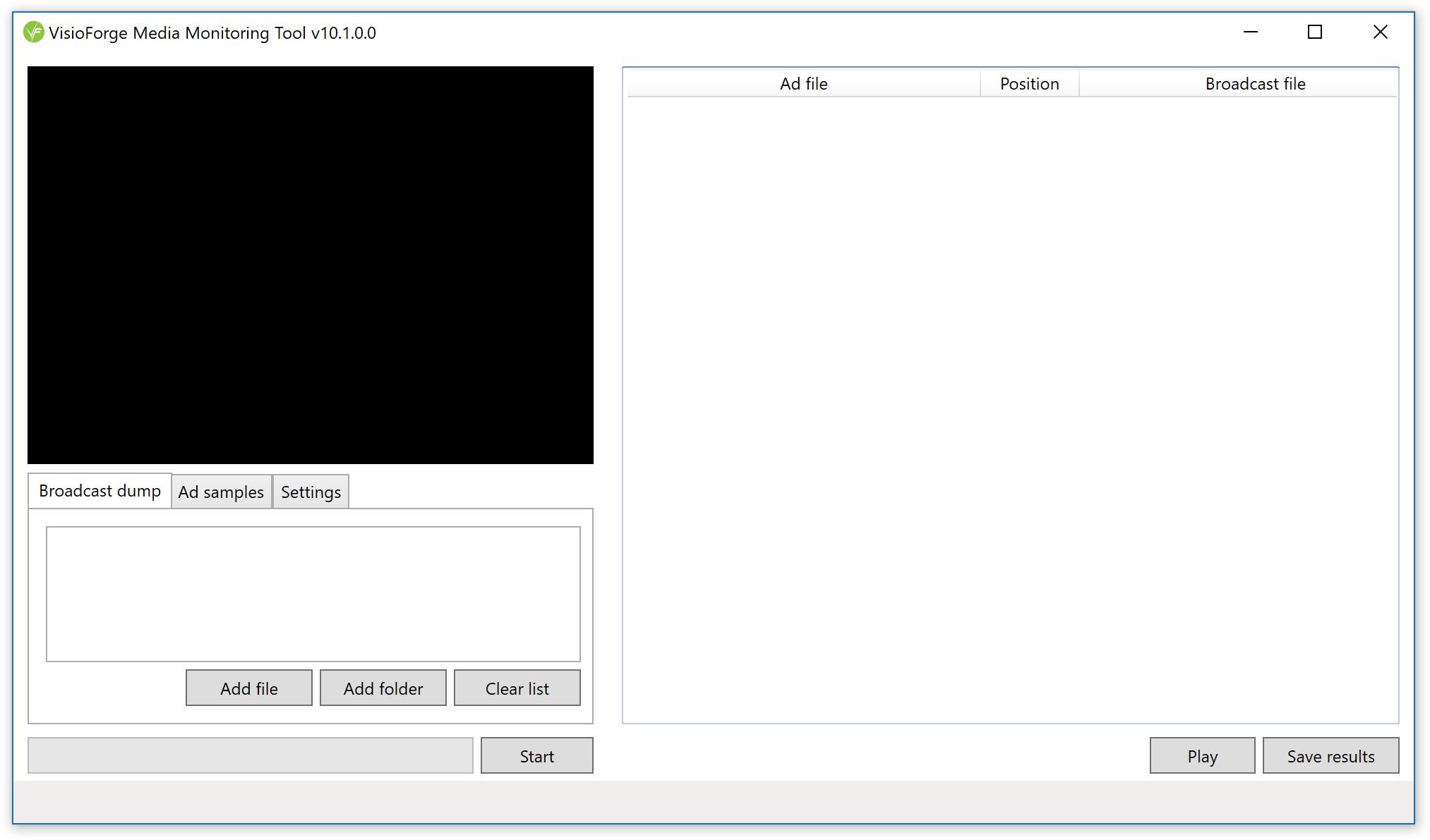 Media Monitoring Tool screenshot 2